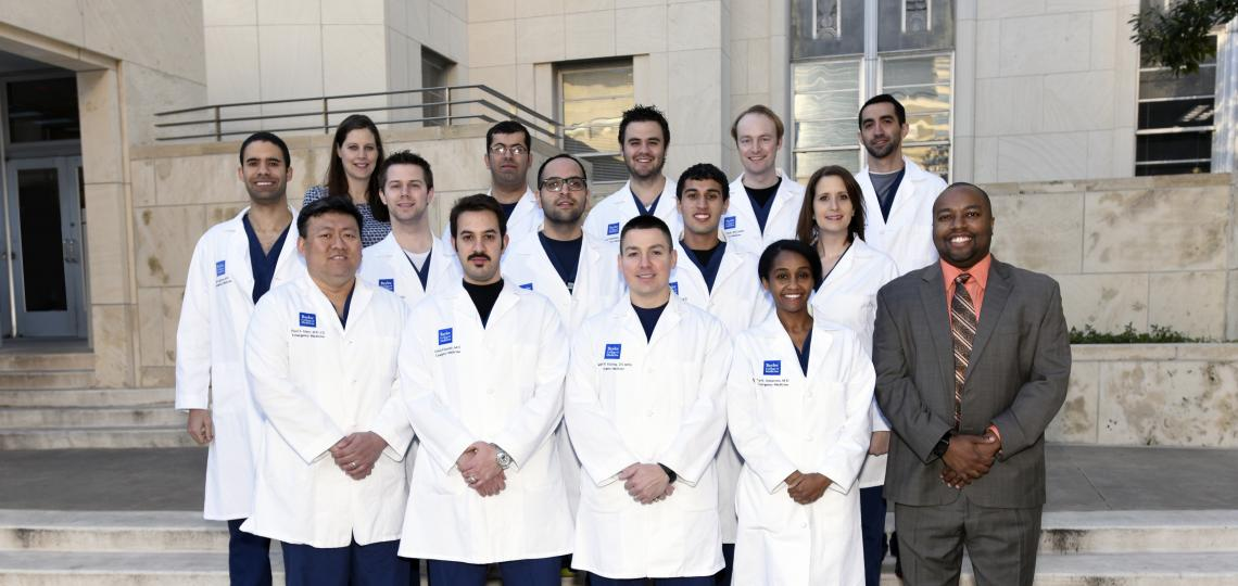 Emergency Medicine Residency Class of 2018