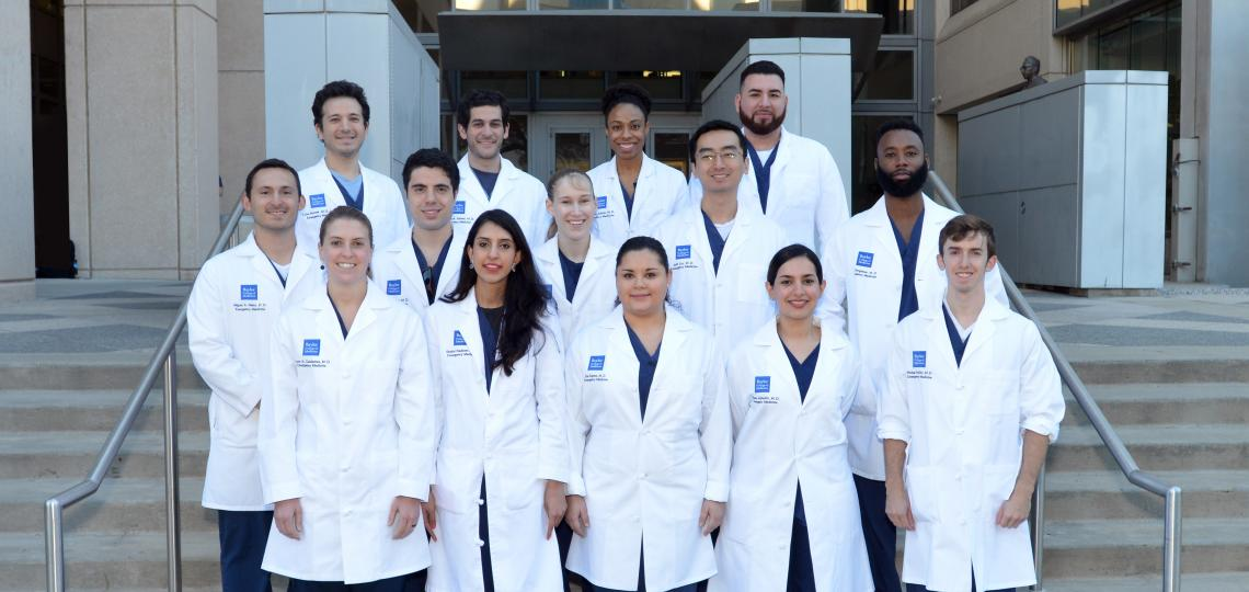 Emergency Medicine Residency Class of 2019