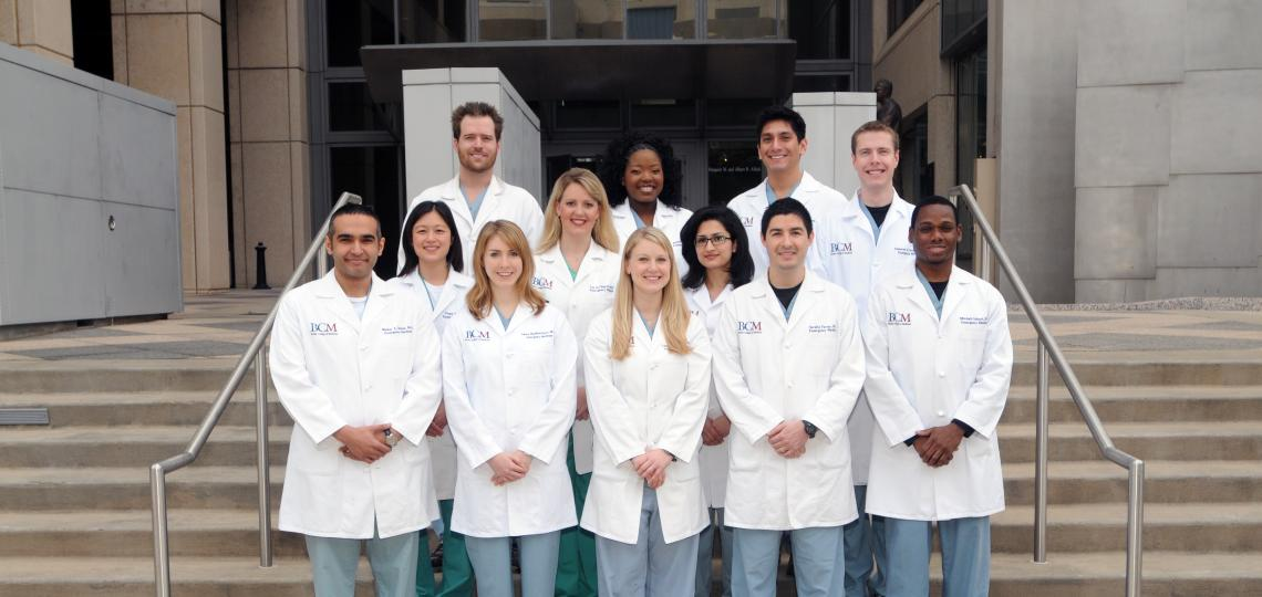 Emergency Medicine Residency Class of 2014