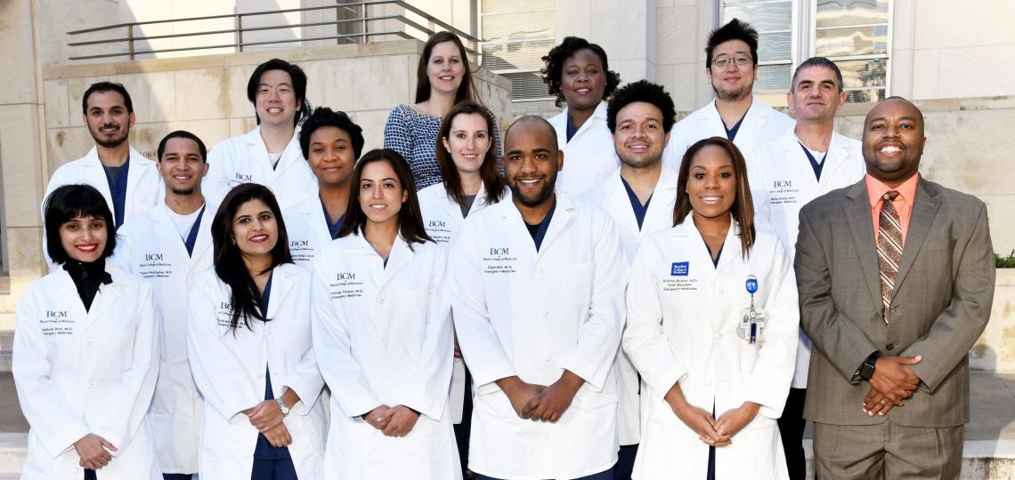 Emergency Medicine Residency Class of 2016