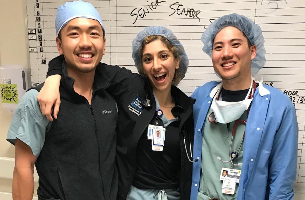 A trio running the OR board together for the first time!