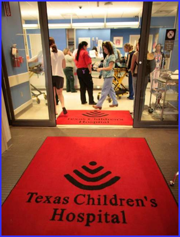 Entrance to Texas Children's Hospital