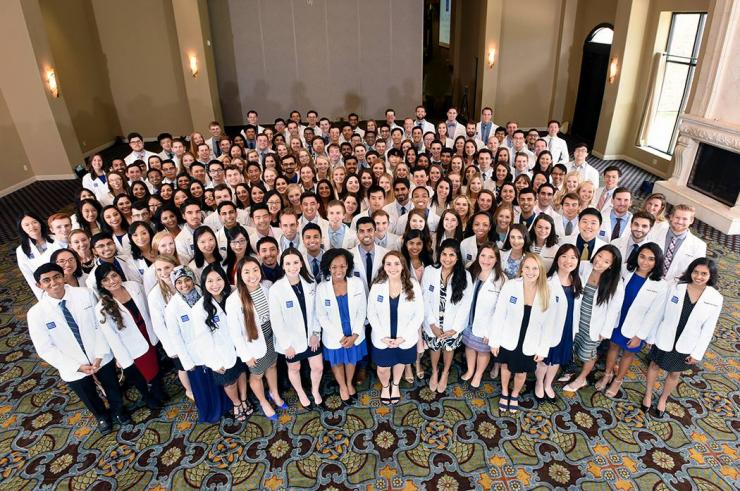 White Coat Ceremony for Class of 2022