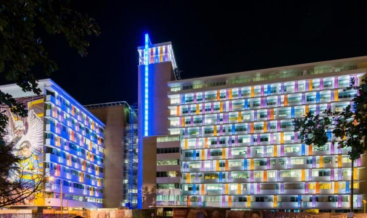 CHofSA Hospital Night Picture