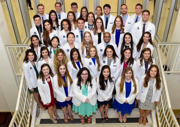 Physician Assistant White Coat Ceremony for Class of 2019