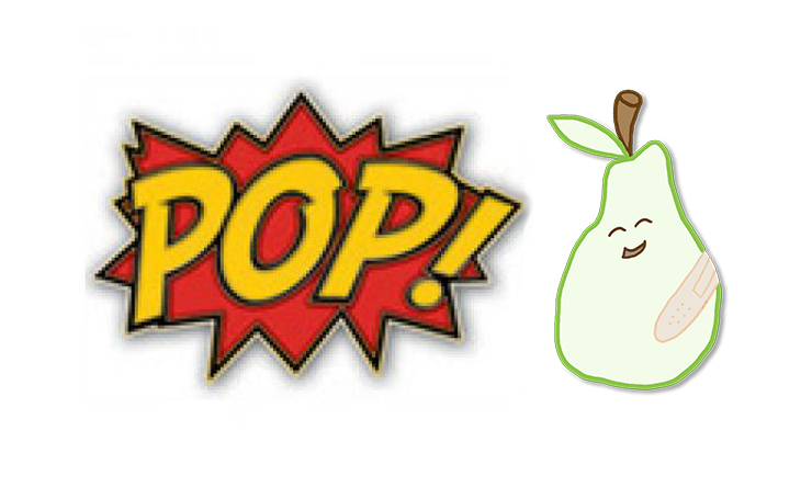 POP and PEAR logo