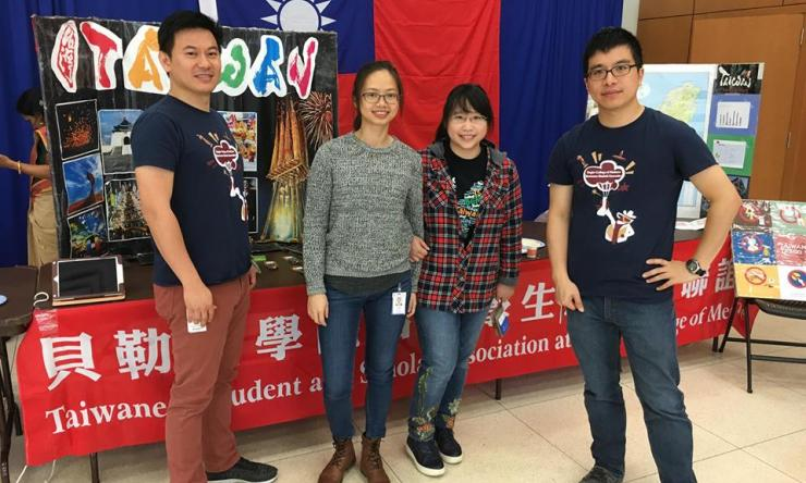 Graduate students from the Taiwanese Student Association.