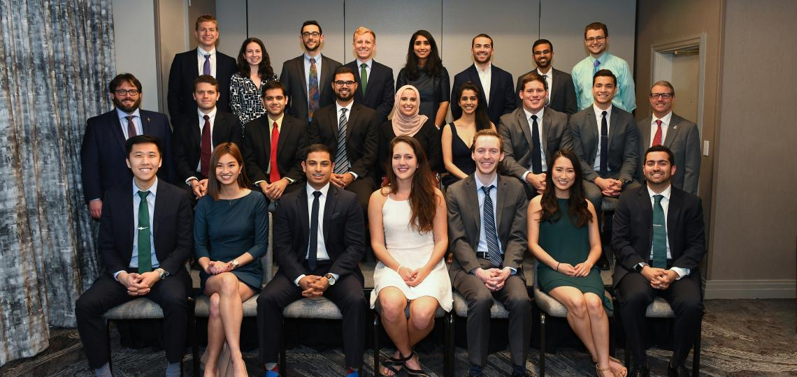 Senior medical student inductees