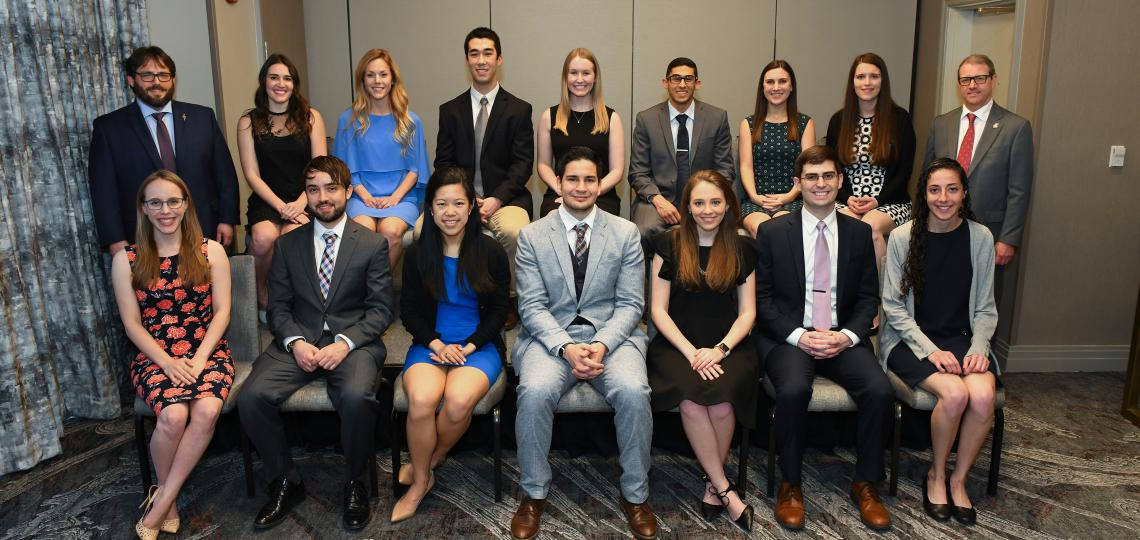 Junior medical student inductees