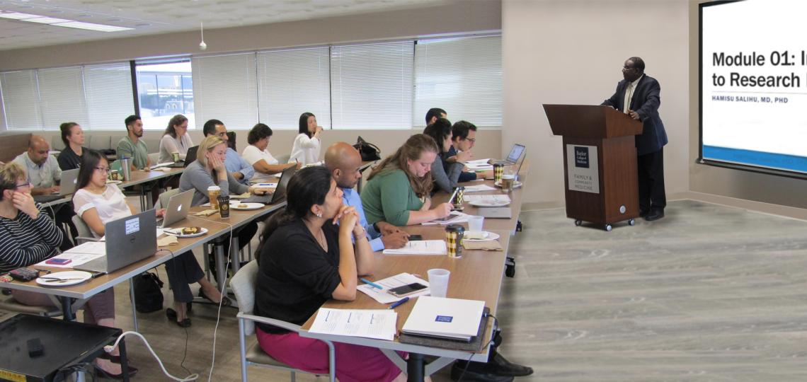 Salihu teaching Clinical Research Methods