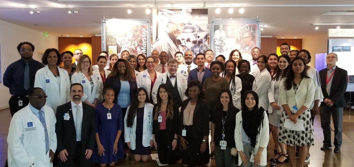 Group photo of 2018-2019 cohort of Center of Excellence in Health Equity, Training and Research Scholars.