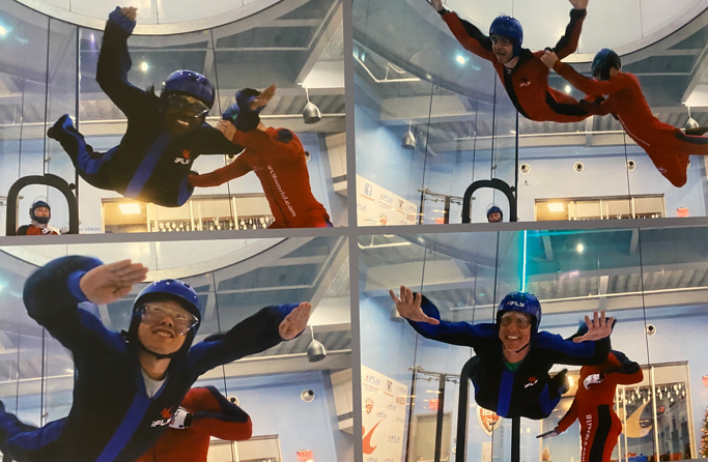 We can fly! A lab outing to Houston's iFly.