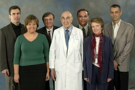 Winners of the 2005 Michael E. DeBakey, M.D., Excellence in Research Awards.