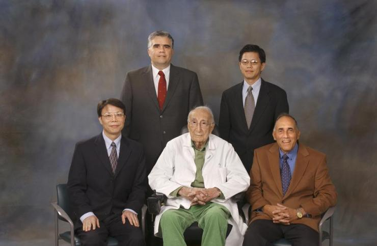 Winners of the 2006 Michael E. DeBakey, M.D., Excellence in Research Awards.