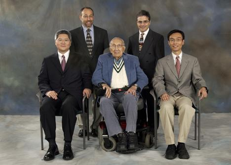 Winners of the 2007 Michael E. DeBakey, M.D., Excellence in Research Awards.