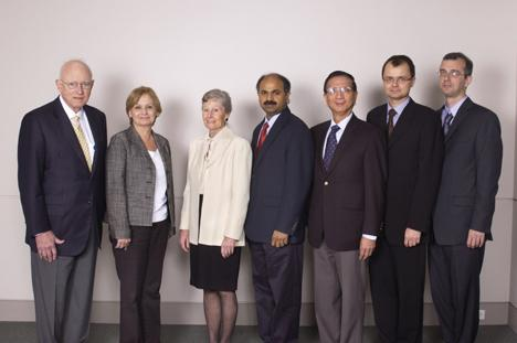Winners of the 2009 Michael E. DeBakey, M.D., Excellence in Research Awards.