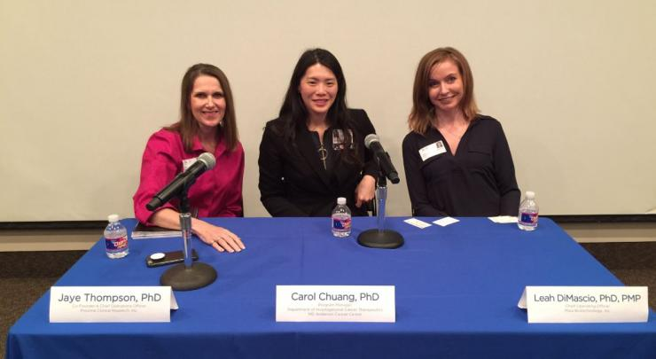 April 2019 Panelists - Career Development