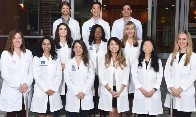 Dermatology residents and fellows 2018-2019