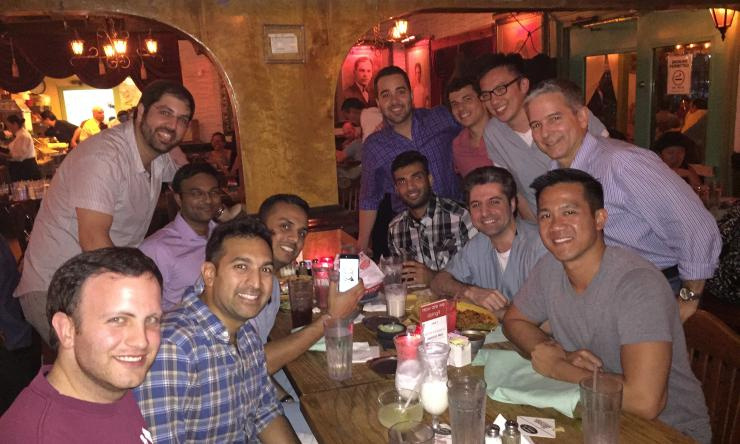 Baylor Diagnostic Radiology Class of 2016 celebrates passing the ABR Core exam.
