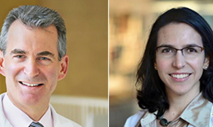 Dr. Seth Lerner and Dr. Jennifer Taylor