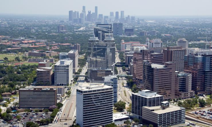 Texas Medical Center aerial view